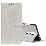 Retro Crazy Horse Texture Horizontal Flip Leather Case for Nokia 4.2, with Holder & Card Slots & Photo Frame (White)