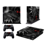 Dark Devil Pattern Fashion Color Protective Film Sticker for Sony PS4