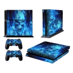 Dokuro Pattern Fashion Color Protective Film Sticker for Sony PS4