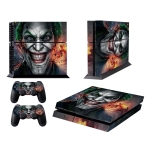 Clown Bucky Pattern Fashion Color Protective Film Sticker for Sony PS4