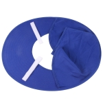Sunshade Cover for Solar Charging Safety Helmet(Blue)