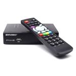 iBRAVEBOX F10S Plus TV Box Satellite Receiver with Remote Control, Support DVB-SS2 / H.265 / ACM / VCM / HDMI
