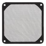 12cm Black Fan Dust Filter Computer Fan Aluminum Dustproof Cover