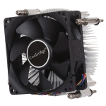 4Pin CPU Cooler Mute Silent Fan Thickened Aluminum Heat Sink for Intel 1155 / 1150 / 1151