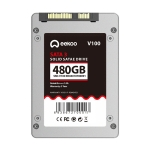 eekoo V100 480GB SSD SATA3.0 6Gb / s 2.5 inch TLC Solid State Hard Drive, Read Speed: 520MB / s, Write Speed: 460MB / s(Silver)