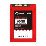 eekoo F-ONE 60GB SSD SATA3.0 6Gb / s 2.5 inch TLC Solid State Hard Drive with 1GB Independent Cache for Desktop PC / Laptop, Read Speed: 500MB / s, Write Speed: 180MB / s(Red)