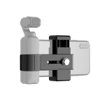 PULUZ Smartphone Fixing Clamp 1/4 inch Holder Mount Bracket for DJI OSMO Pocket