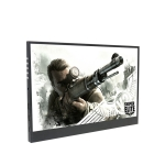 15.6 inch 1080P LED Portable Display Support HDR(Black)