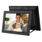 12.1 inch Digital Photo Frame with Holder & Remote Control, Allwinner F16 Program, Support SD /  MMC / USB Flash Disk(Black)