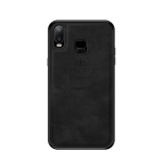PINWUYO Shockproof Waterproof Full Coverage PC + TPU + Skin Protective Case for Galaxy A6s (Black)