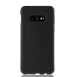 Magic Color PU + TPU Protective Case for Galaxy S10 E (Black)