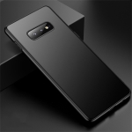 CAFELE Ultra-thin Frosted Soft TPU Protective Case for Galaxy S10 E (Black)