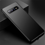 CAFELE Ultra-thin Frosted Soft TPU Protective Case for Galaxy S10 (Black)