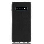 Magic Color PU + TPU Protective Case for Galaxy S10 (Black)