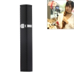 CYKE S3 Hidden One-piece Lipstick Shape Wired Control Selfie Stick with Rear Mirror(Black)
