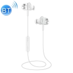 Meizu EP51 Magnetic Attraction In-ear Bilateral Stereo Wireless Bluetooth Earphone with Earplugs, Support Call (White)