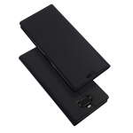 DUX DUCIS Skin Pro Series Horizontal Flip PU + TPU Leather Case for Sony Xperia 10 Plus, with Holder & Card Slots (Black)