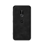 PINWUYO Shockproof Waterproof Full Coverage PC + TPU + Skin Protective Case for Sony Xperia XZ3 (Black)