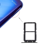 SIM Card Tray + SIM Card Tray for Huawei Honor View 20 (Honor V20) (Black)