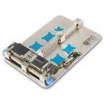 BEST- 001D Stainless Steel Circuit Board Soldering Desoldering PCB Repair Holder Fixtures Mobile Phone Repairing Tool