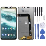 LCD Screen and Digitizer Full Assembly for Motorola One Power (P30 Note) (Black)