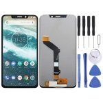 LCD Screen and Digitizer Full Assembly for Motorola One (P30 Play) (Black)