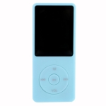 Fashion Portable LCD Screen FM Radio Video Games Movie MP3 MP4 Player Mini Walkman, Memory Capacity:4GB(Light Blue)