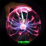 3 inch Crystal Magic Ball Glass Sphere Light Home Decor Novelty Lighting Lamp