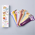 30 PCS / Set Cute Animal Farm Paper Bookmark Book Holder Multifunction Kawaii Stationery for Children School Supplies Kawaii Gifts