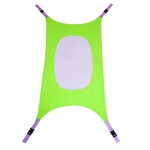 New Baby Infant Hammock Home Outdoor Detachable Portable Comfortable Bed Camping Baby Hanging Sleeping Bed(Green)