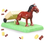 Leaping foal desktop game family parent-child interactive board game exercise balance fine action toys for children gifts