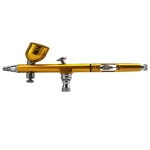 Airbrush Spray Tool  for Nail Art Paint Tattoo Airbrush(Golden)
