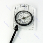 Outdoor Hiking Camping Baseplate Compass Map Measure Ruler