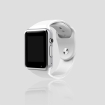 A1 1.54 inch IPS Screen Bluetooth Smart Watch Support Call Music Photography TF Card(WHITE)
