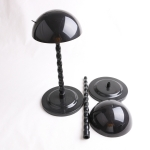 Wig Holder Hats Display Multi-Purpose Use Stand Tools(black)