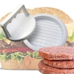 Round Shape Hamburger Press Food-Grade Plastic Hamburger Meat Beef Grill Burger Press Patty Maker Mold Mould Kitchen Tool