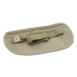 5 PCS Multifunctional Outdoor Waist Belt Bag Travel Anti-theft Invisible Phone(Khaki)