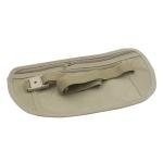 5 PCS Multifunctional Outdoor Waist Belt Bag Travel Anti-theft Invisible Phone (Khaki)