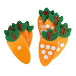 Educational Toy Non-woven Children Puzzle Handmade DIY Creative Toys Kindergarten Carrot Digital Teaching Aids