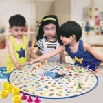 Puzzle Kids Detectives Looking Chart Board Game Plastic Puzzle Brain Training Education Game Kit