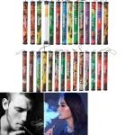 10PCS  Fruits Flavor 500 Puffs Disposable Vapor Shisha Stick Pen Electronic Cigarettes, Random Flavor Delivery