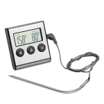Digital Oven Thermometer Kitchen Food Cooking Meat BBQ Probe Thermometer Timer Water Milk Temperature Cooking Tools