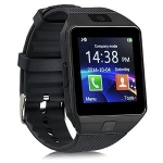 Smartwatch Digital Sport Gold Pedometer For Phone Android Wrist Watch(full black)