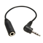 10 PCS 2.5mm Male Plug To 3.5mm Female Jack AUX Audio TRS Adapter Cable for MP3 MP4 Phone