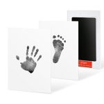 Baby Hand And Foot Free Wash Non-toxic Ink Pad(Black)