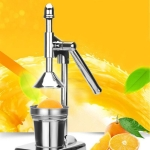 Stainless steel Juicer Fruits Squeezer Orange Lemon Manual Juice Squeezer No power mute Kitchen Cooking Tool