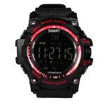 EX16 IP67 Waterproof  Bluetooth Smart Watch Notification Remote Control Pedometer Sport Watch(Red)