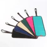 36 Holes Pencil Holder Colored Pencil Bag Storage Pouch Canvas Bag(black )
