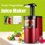 220V-150W Electric Juicer Fruit Vegetables Low Speed Self-cleaning Ultra-quiet Red Squeezing Juice Maker Extractor
