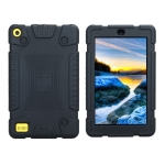 Full Coverage Silicone Shockproof Case for Amazon Kindle Fire 7 (2017) (Black)